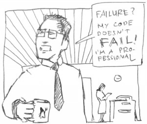 code failure unit test